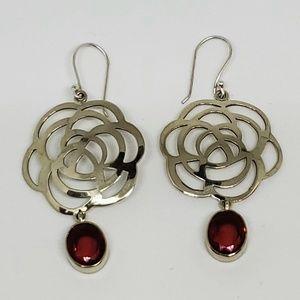 Blooming Rose Earrings
